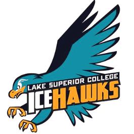 Lake Superior College's IceHawks logo